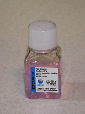 سفارش محیط شستشوی گرادیان GC-HTF 30% - 60% (محیط های شیب غلظت اسپرم انسانی) در حجم های 100 و 500 میلی لیتری و آشنایی با سایر محیط های کشت اسپرم
