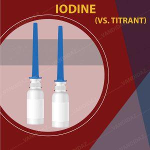 فروش محلول ید (vs titrant Iodine)